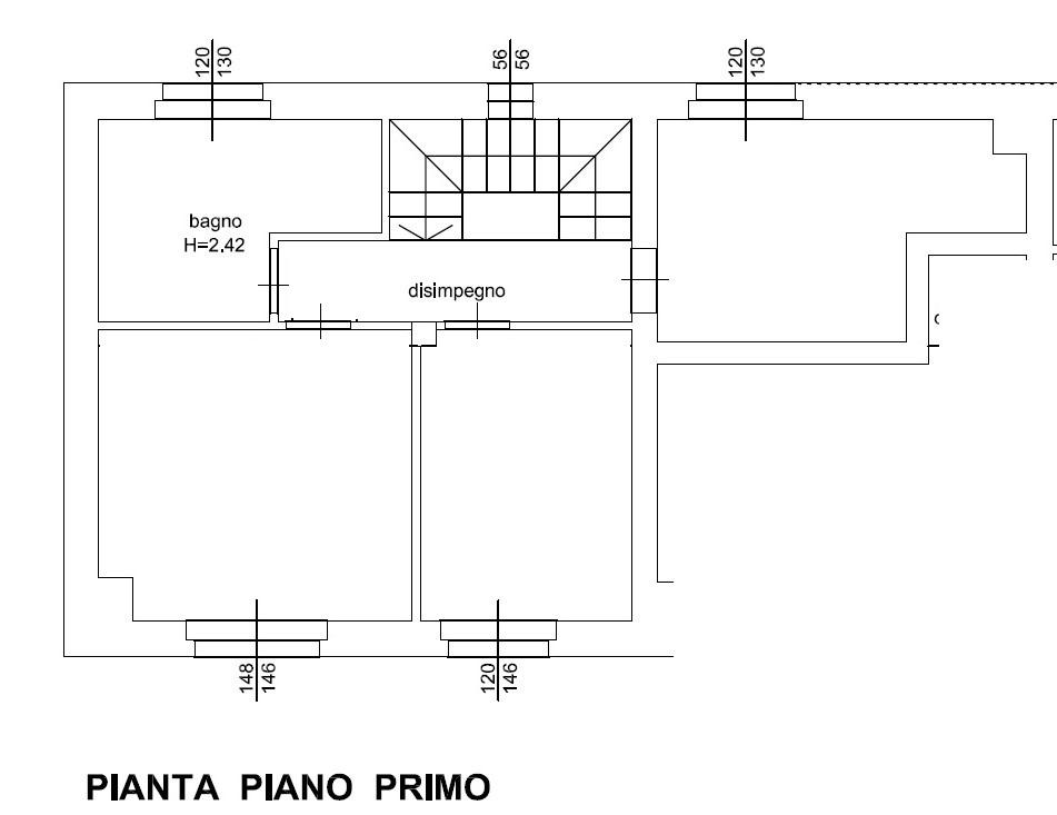 Planimetria 3/3 per rif. 1308