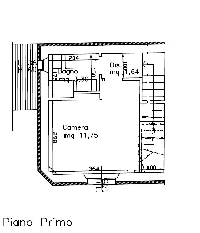 Planimetria 2/2 per rif. 757