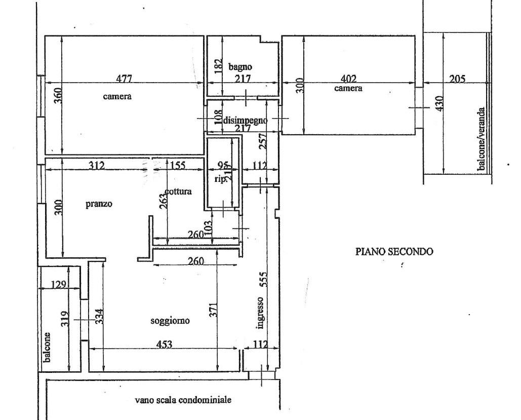 Planimetria 1/1 per rif. 315