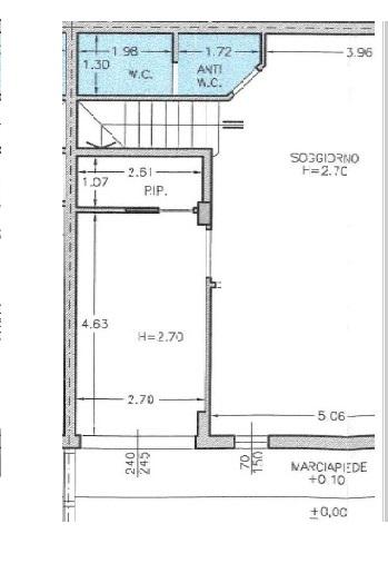 Planimetria 1/3 per rif. 1309