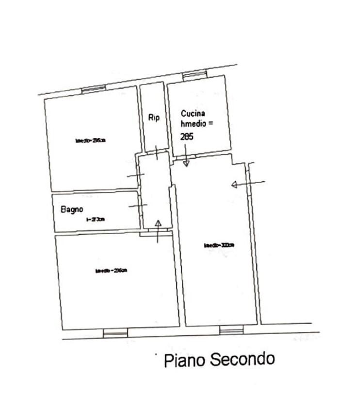 Planimetria 1/1 per rif. 308