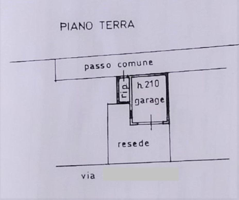 Planimetria 2/2 per rif. 753