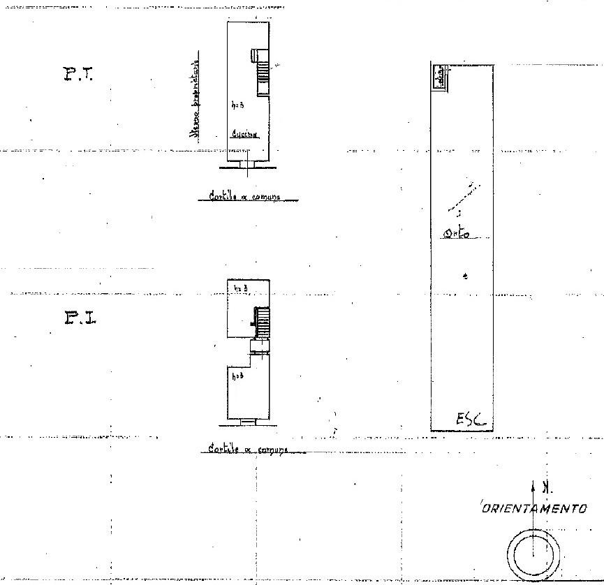 Planimetria 2/2 per rif. 755