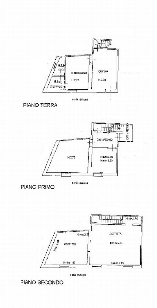 Planimetria 1/2 per rif. 755