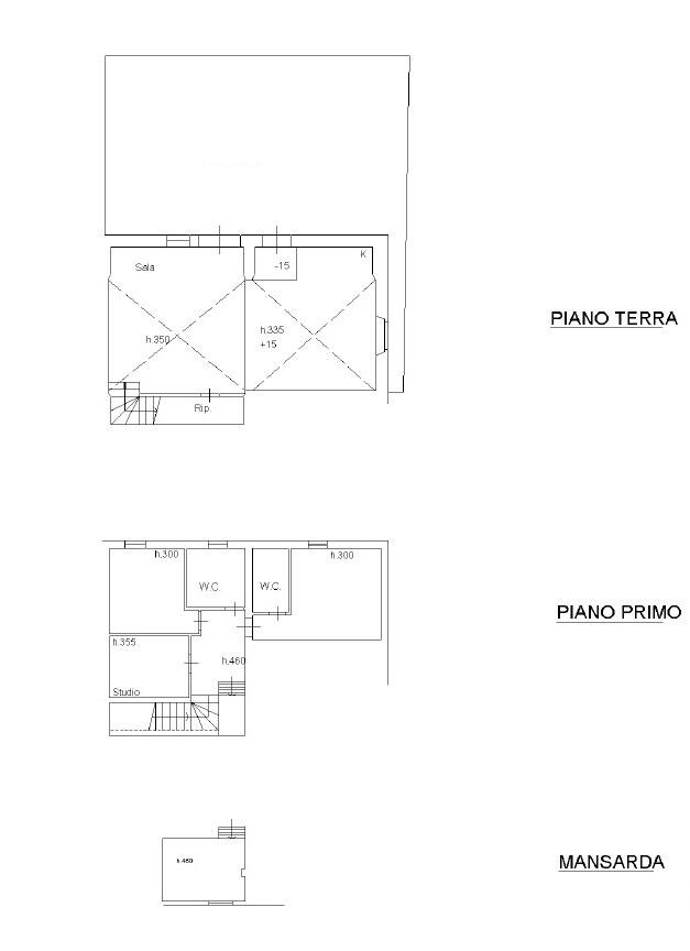 Planimetria 2/2 per rif. 1002