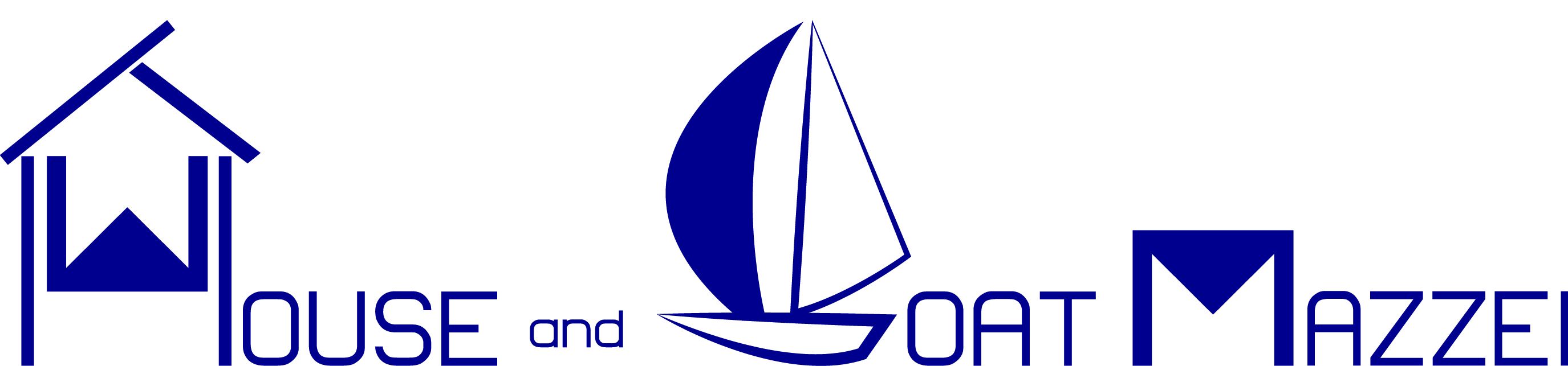logo House and Boat Mazzei