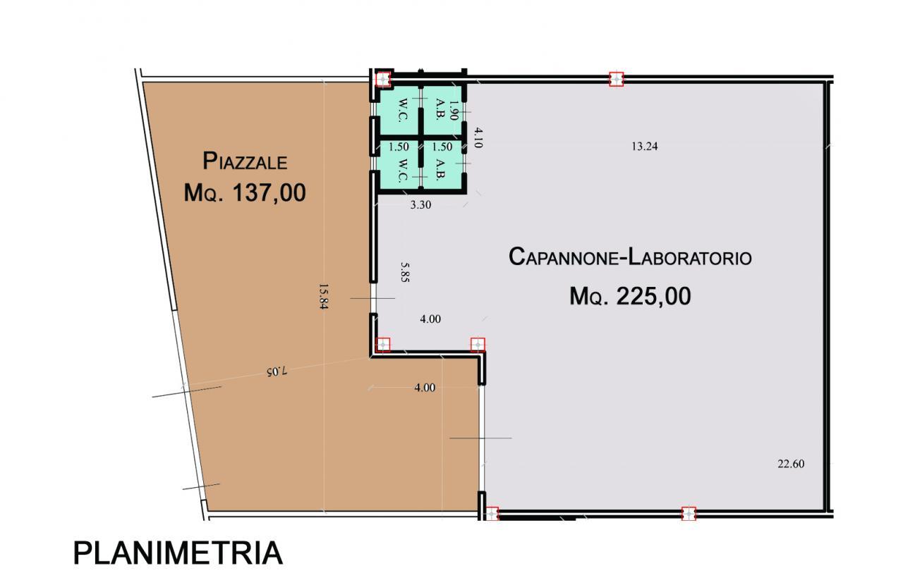 Capannone industriale in affitto a Calcinaia (PI)
