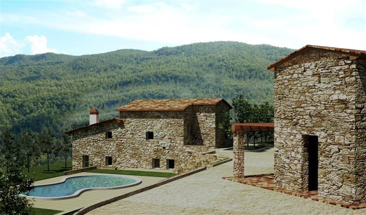 Rustico in vendita a Castelnuovo di Val di Cecina (PI)