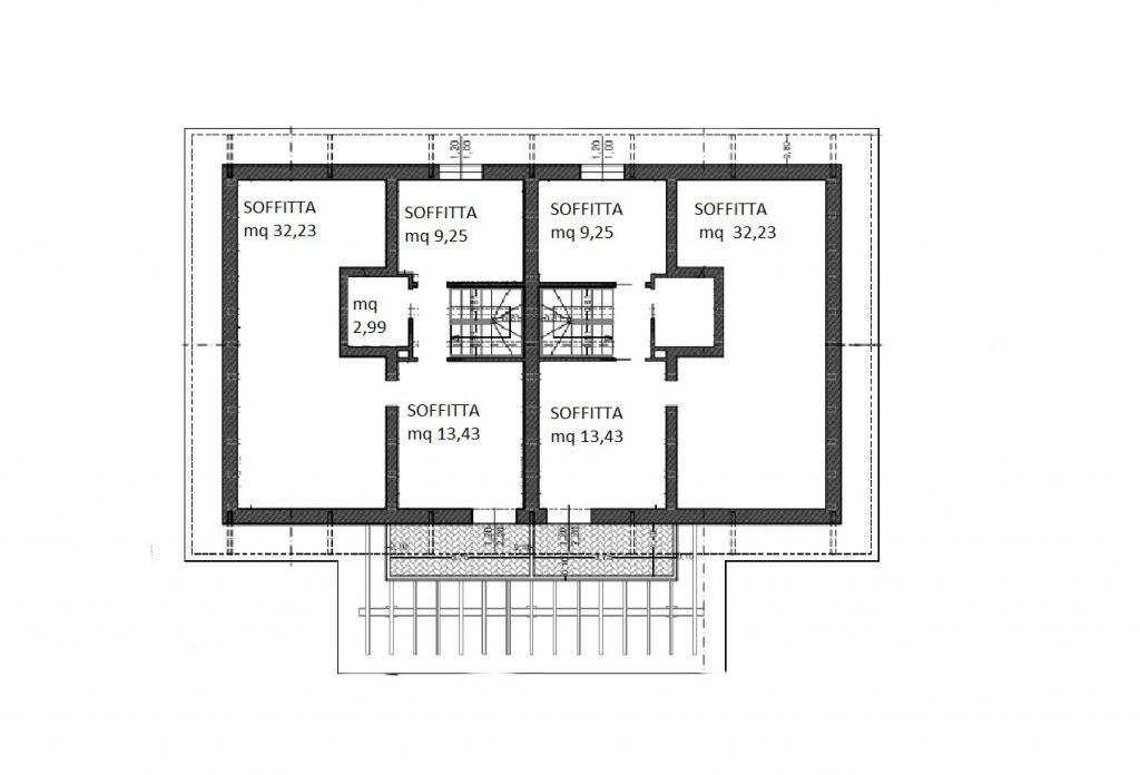Villetta bifamiliare in vendita, rif. 01207