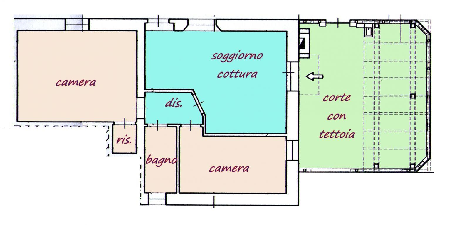 Casa semindipendente in vendita, rif. 589