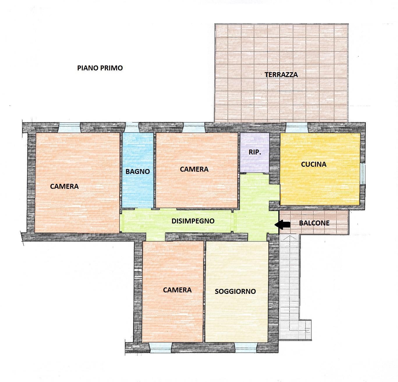 Appartamento a Buti