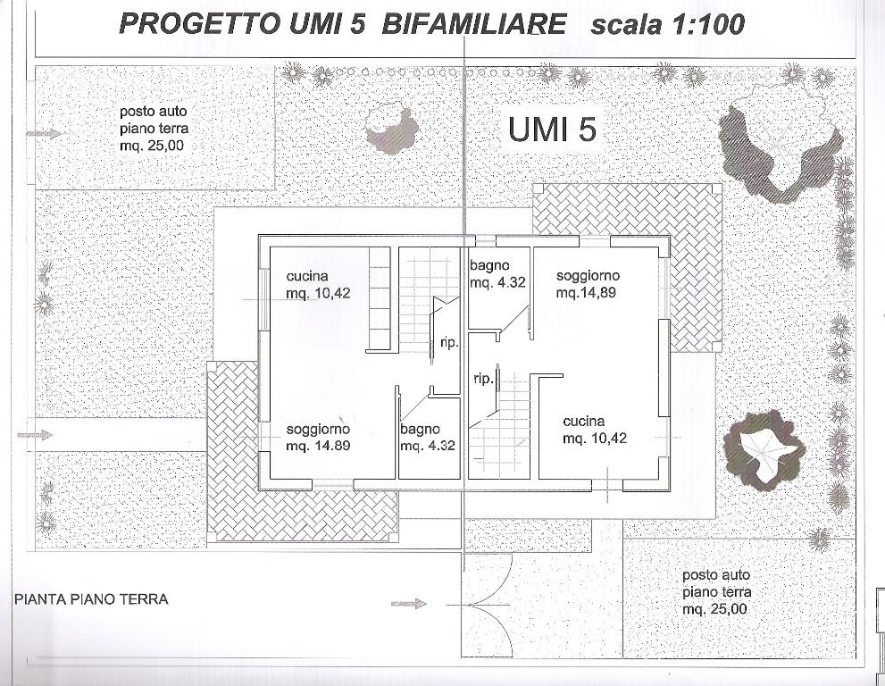 Villetta bifamiliare in vendita, rif. 322
