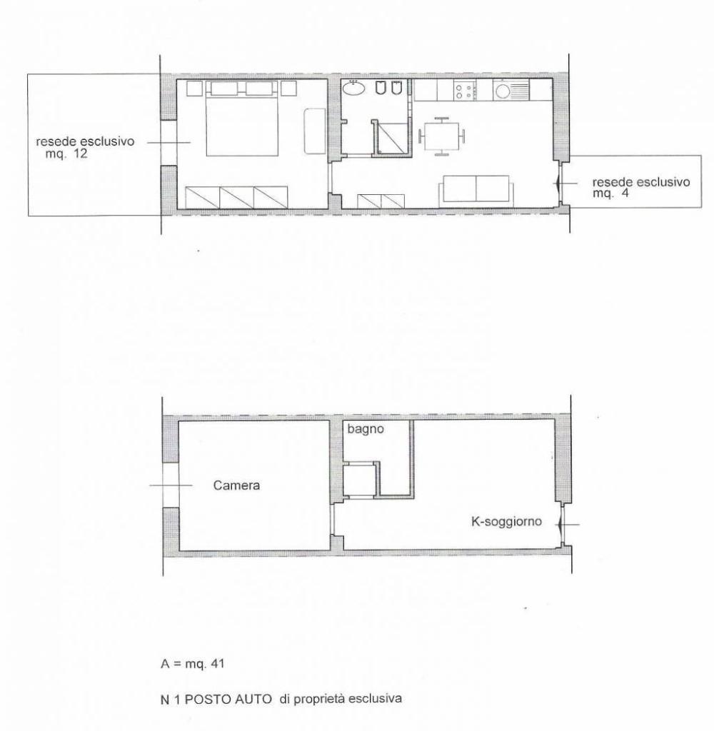 Appartamento in vendita, rif. DC558
