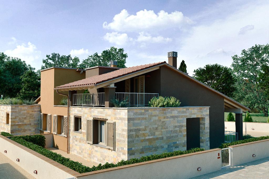Il quadrifoglio appartamenti e case a fornacette for Piani di costruzione casa moderna