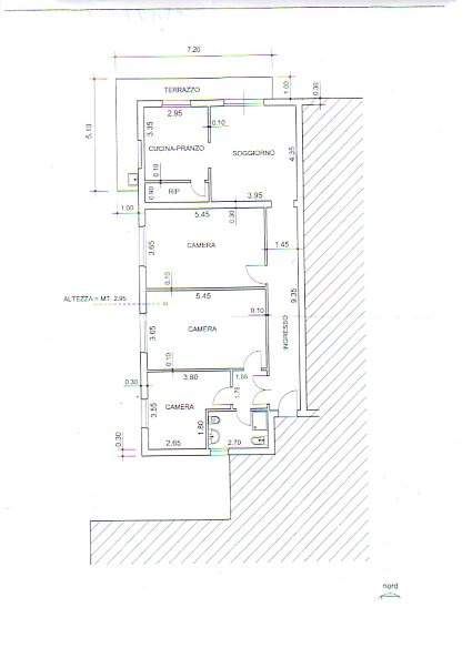 Appartamento in affitto a Vecchiano, 5 locali, prezzo € 650 | CambioCasa.it