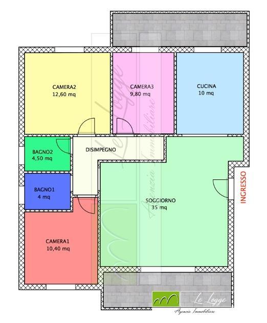 Appartamento in vendita, rif. PAM-336
