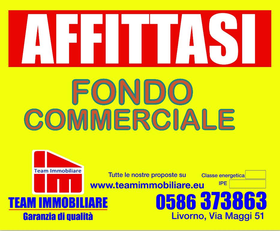 Negozio / Locale in affitto a Livorno, 2 locali, prezzo € 600   CambioCasa.it