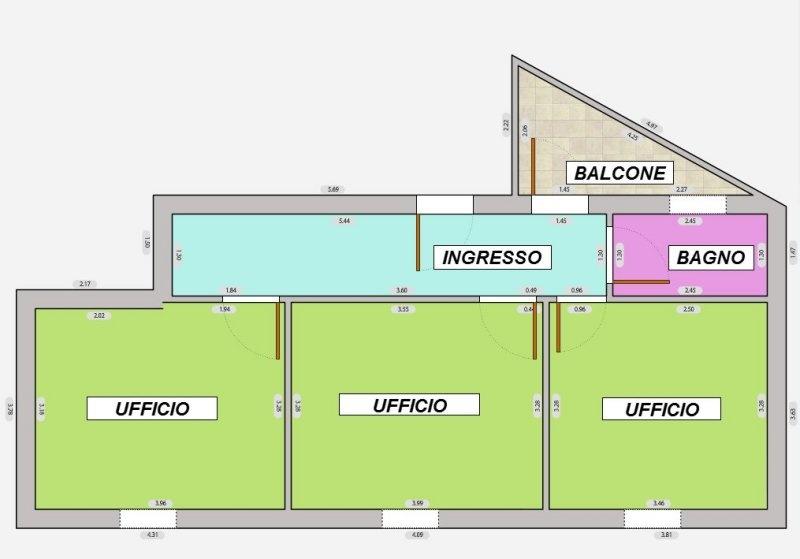 Ufficio in vendita a Livorno