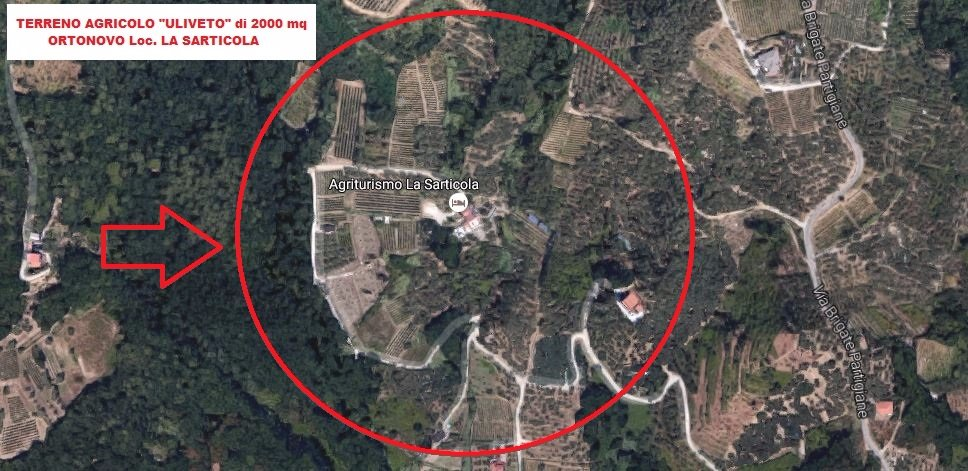 Terreno agricolo in vendita a Ortonovo (SP)