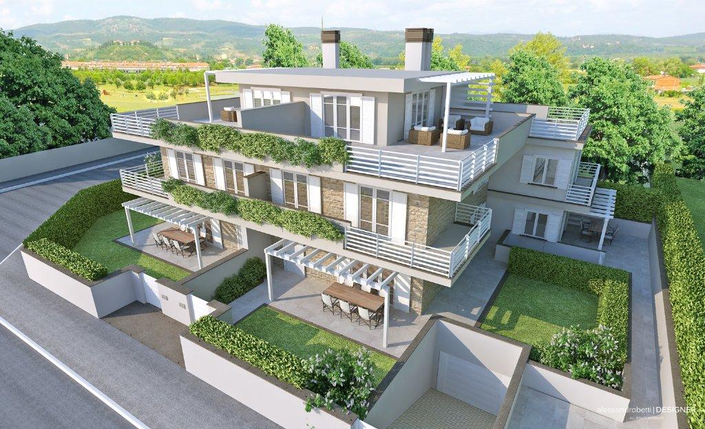 Attico / Mansarda in vendita a Empoli, 5 locali, prezzo € 350.000   Cambio Casa.it