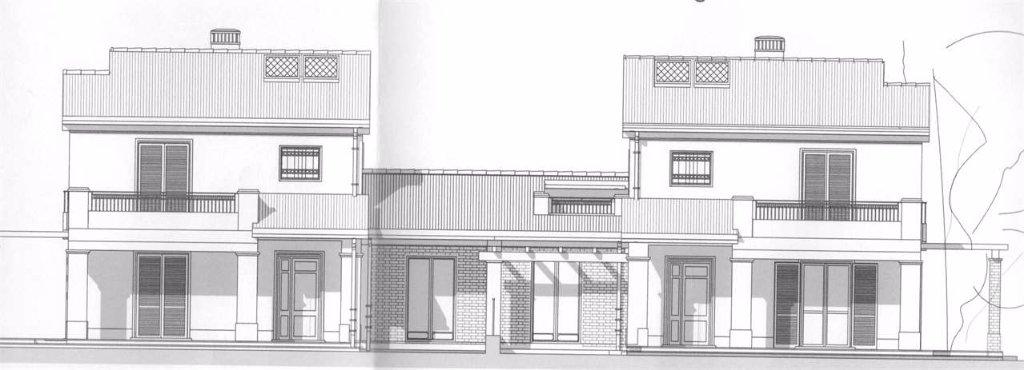 Immobiliare il progetto villetta bifamiliare duplex in - Progetto casa fossato di vico ...