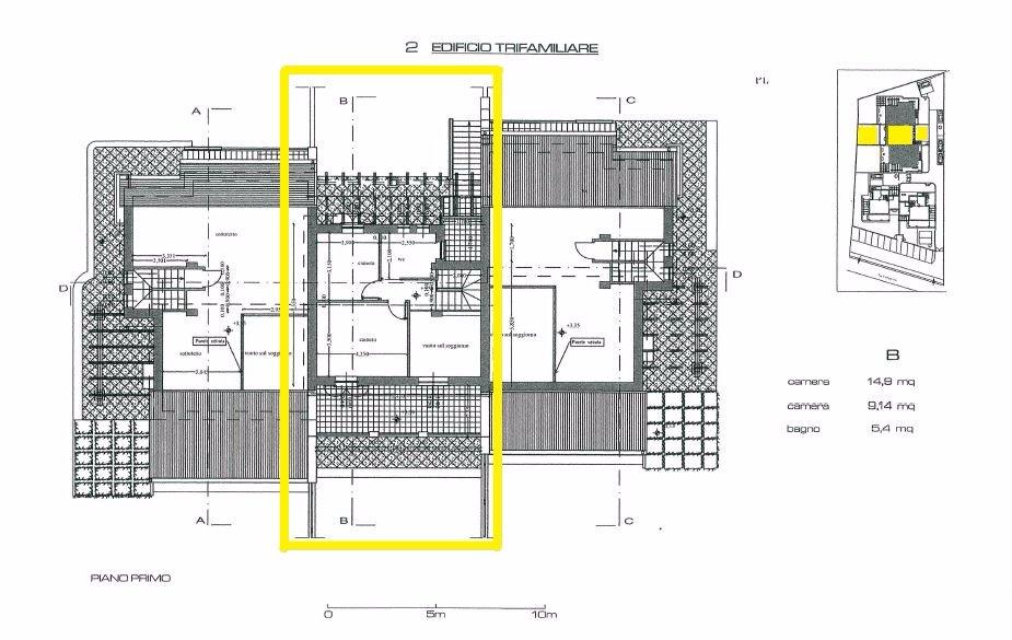 Immobiliare il progetto villetta trifamiliare in vendita - Progetto casa fossato di vico ...