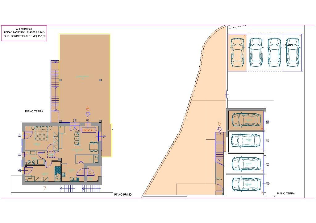 Appartamento in vendita a Pontedera, 3 locali, prezzo € 250.000 | CambioCasa.it