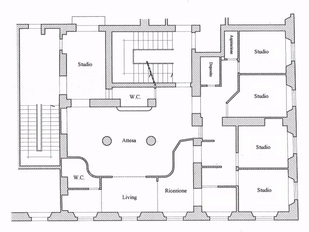 Ufficio in affitto commerciale, rif. F063