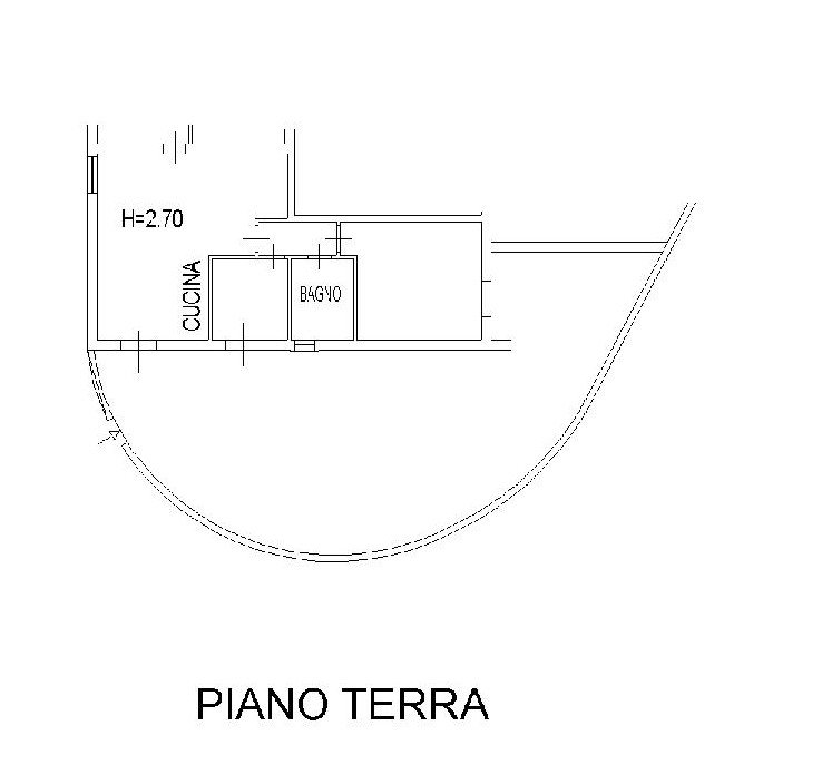Casa semindipendente in vendita a Casciana Terme Lari (PI)