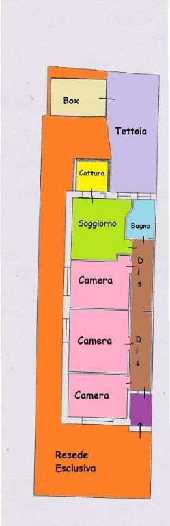 Soluzione Semindipendente in vendita a Massarosa, 4 locali, prezzo € 128.000 | CambioCasa.it