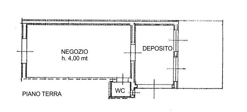 Negozio / Locale in Affitto a Santa Maria a Monte