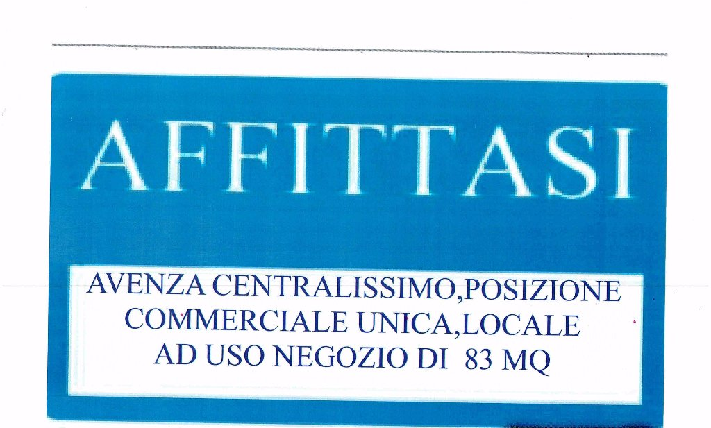 FONDO COMMERCIALE in Affitto a Avenza, Carrara (MASSA CARRARA)