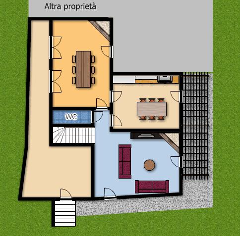 Villa Bifamiliare in Affitto a Vicopisano