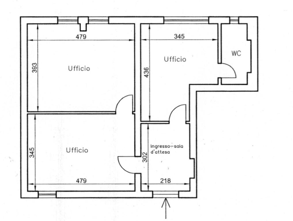 Ufficio in affitto commerciale, rif. AC-001