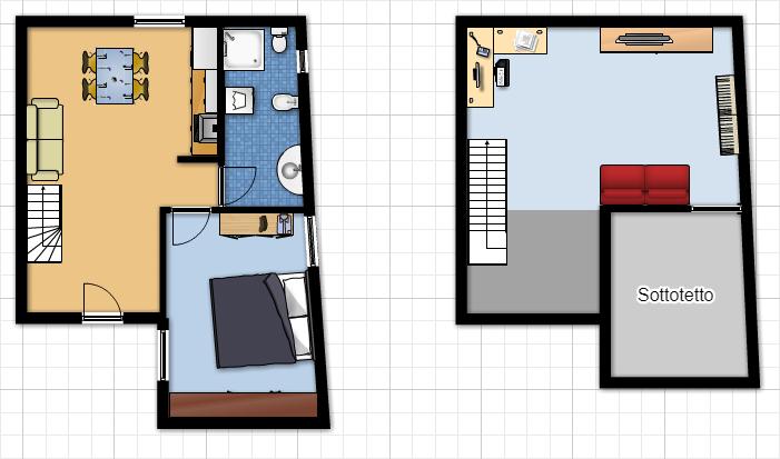 Casa semindipendente in affitto, rif. A161