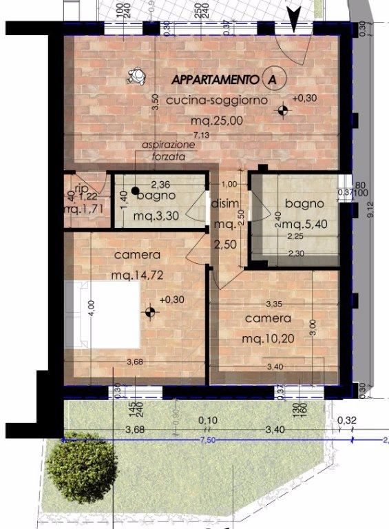 Appartamento in vendita a Cascina, 3 locali, prezzo € 220.000 | CambioCasa.it
