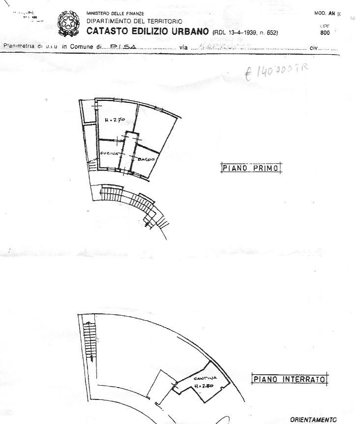 Appartamento in vendita, rif. 39/192