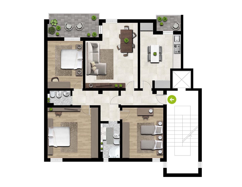 Terratetto in vendita, rif. DE46