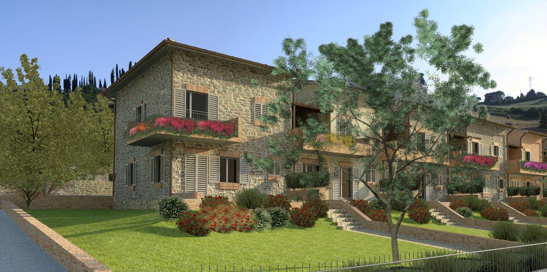 Townhouses for sale in Castelnuovo Berardenga (SI)