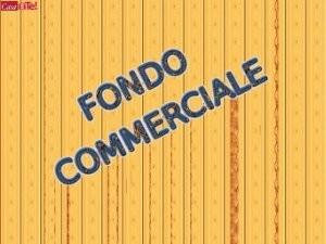 Locale comm.le/Fondo in vendita, rif. C11