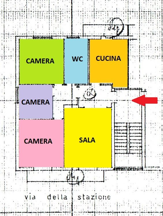 Casa semindipendente in vendita a Villafranca in Lunigiana (MS)