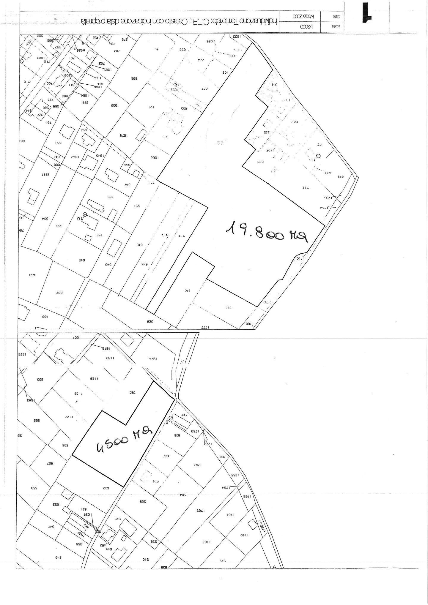 Terreno edif. residenziale in vendita a Cervaiolo, Montignoso (MS)