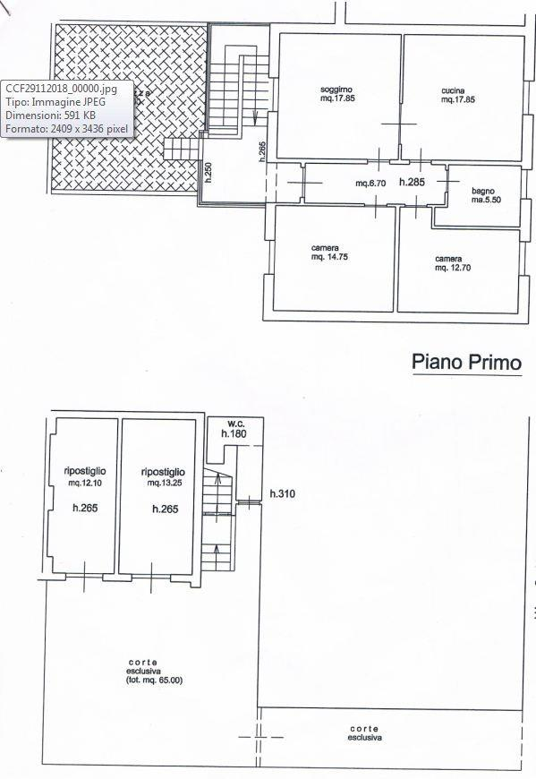 Appartamento in vendita, rif. SPC/12