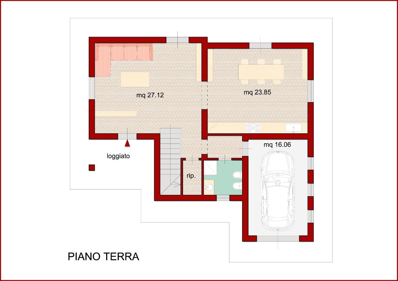 Villa singola in vendita a Pontedera