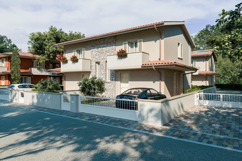 Villetta bifamiliare in vendita a Pontedera