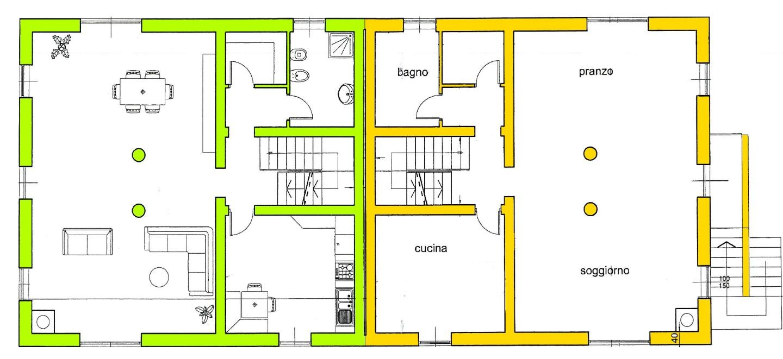 Villetta bifamiliare in vendita, rif. 01966/1