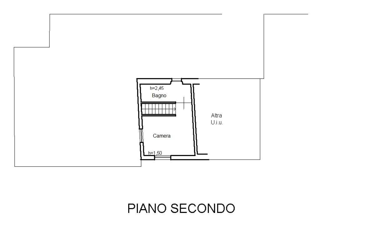 Casa semindipendente in affitto a Quercioli, Massa