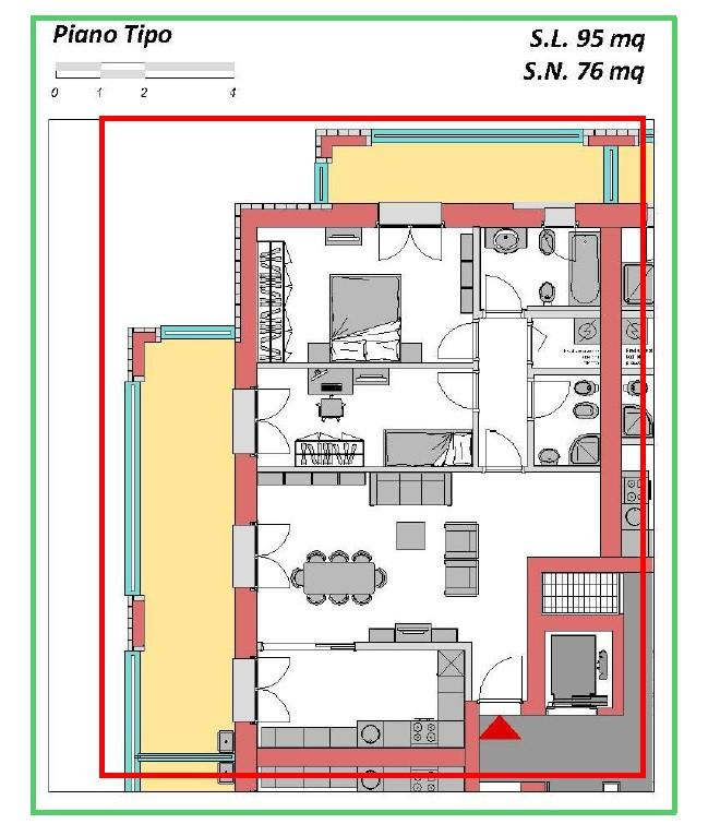 Appartamento in vendita, rif. 305