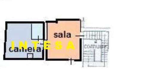 Appartamento in vendita, rif. mansarda in c storico ad.ze comu