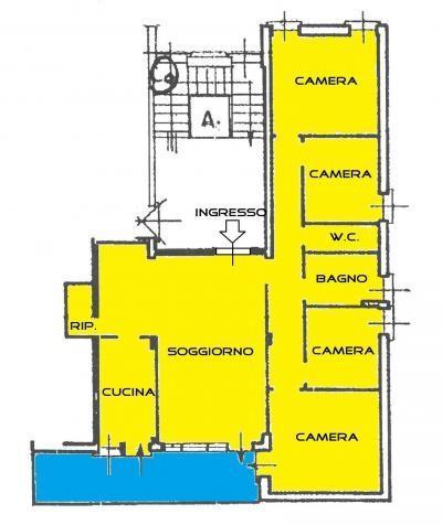 Appartamento in vendita, rif. 6 VANI IN PORTA A PIAGGE K DINN